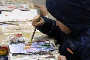 טיפול באומנות לילדים עם צרכים מיוחדים